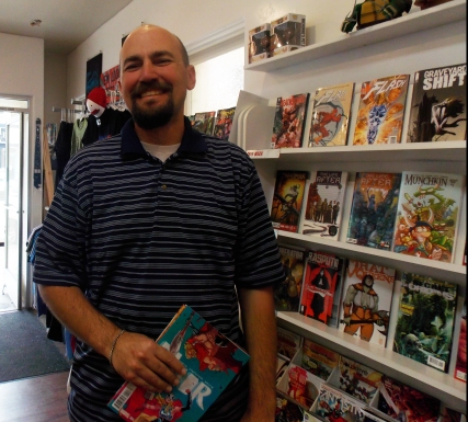 """Jason Eatmon was introduced to comics by a friend. """"It used to be that I just followed X-Men,"""" Eatmon said, """"then I grew up a little."""" """"I love the story,"""" Eatmon said in regards to what draws him to a new book."""